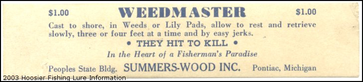Summers Wood Label